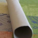 eine Küchenpapier-Rolle